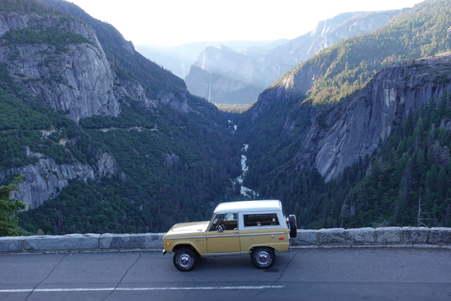 1974 Bronco Ranger in Yosemite