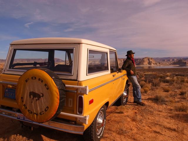 1974 Bronco Ranger at Lake Powell with Tokichi Kimura