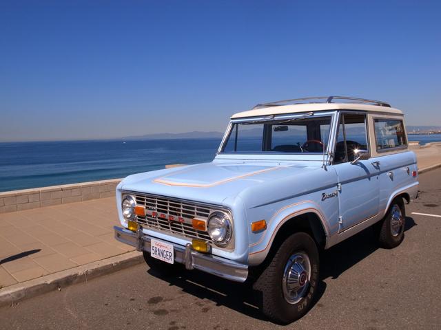 1975 Bronco Ranger at Redondo Beach