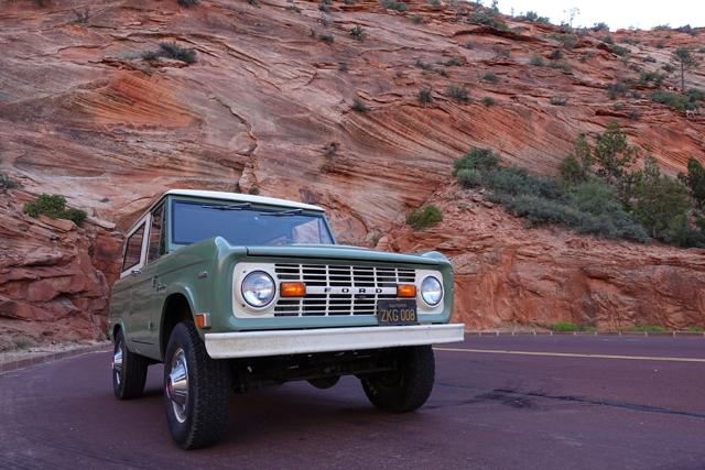 1969 Bronco in Zion