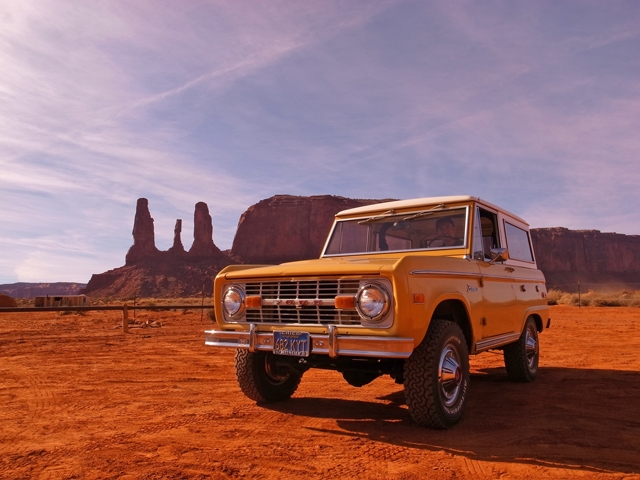 1974 Bronco Ranger in Monument Valley