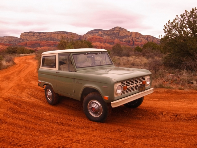 1969 Bronco in Sedona