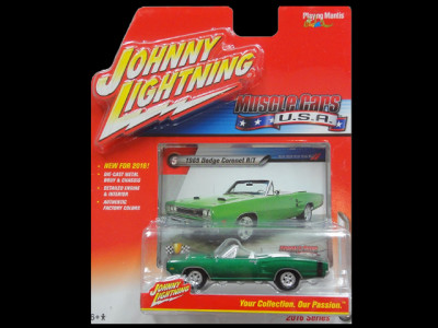 JL MUSCLE CARS USA 5 1969 Dodge CoronetRT green 1