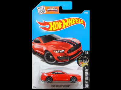 HW NIGHT BURNERZ FORD SHELBY GT350R red1