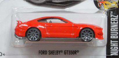 HW NIGHT BURNERZ FORD SHELBY GT350R red2