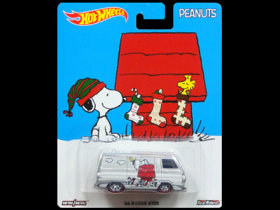 HW PEANUTS 'SNOOPY' '66 DODGE A100 1