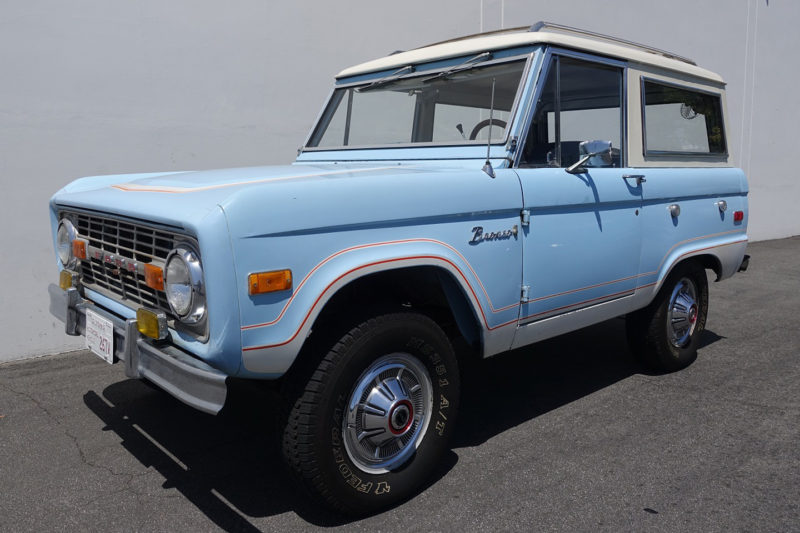 For Sale 1968 Ford Bronco Sport Camper Package 1975